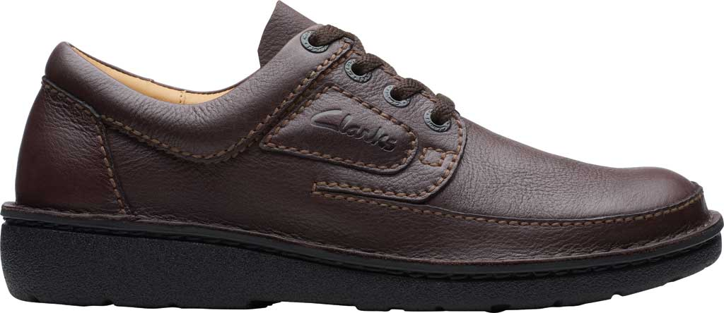 Men's Clarks Nature II, Brown Full Grain Leather, large, image 2