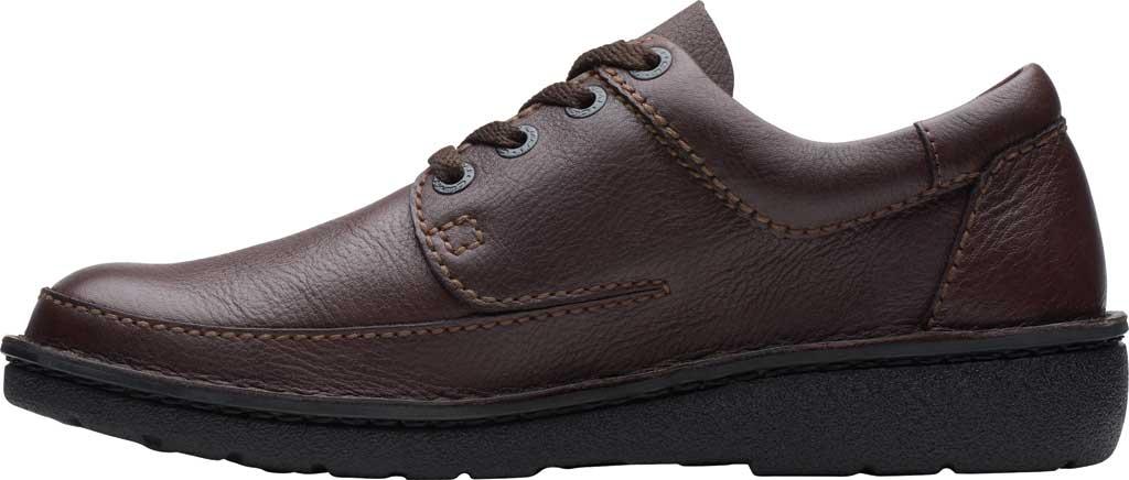 Men's Clarks Nature II, Brown Full Grain Leather, large, image 3