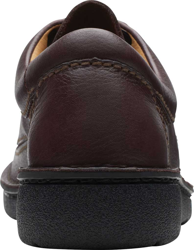 Men's Clarks Nature II, Brown Full Grain Leather, large, image 4
