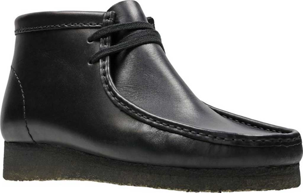 Men's Clarks Wallabee Boot, Beeswax Leather 2, large, image 1