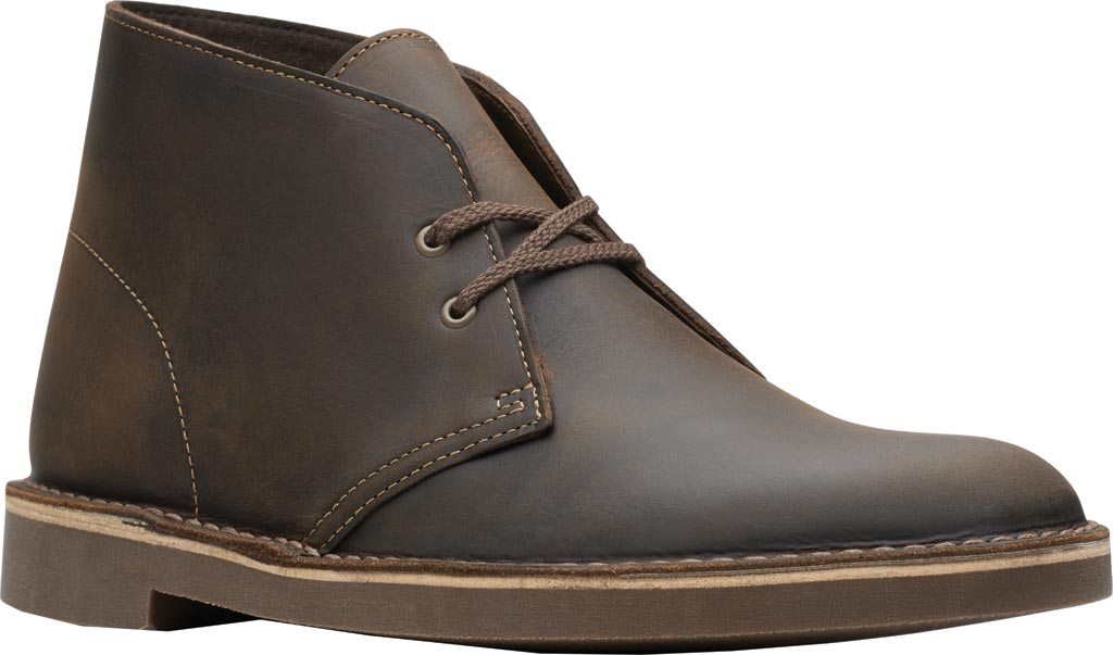 Men's Clarks Bushacre 2 Boot, Beeswax Leather, large, image 1