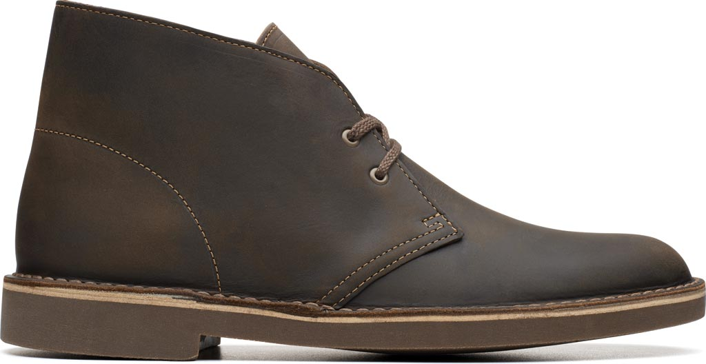 Men's Clarks Bushacre 2 Boot, Beeswax Leather, large, image 2