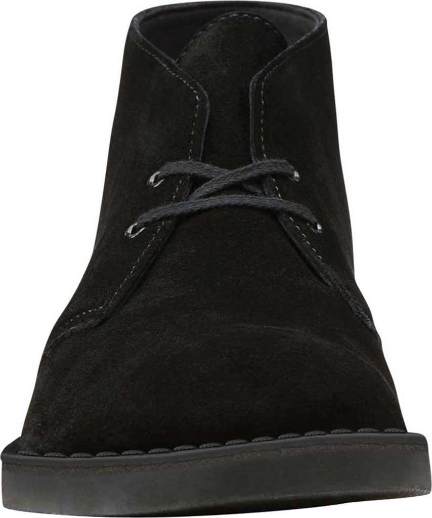 Men's Clarks Bushacre 2 Boot, Black Suede, large, image 4