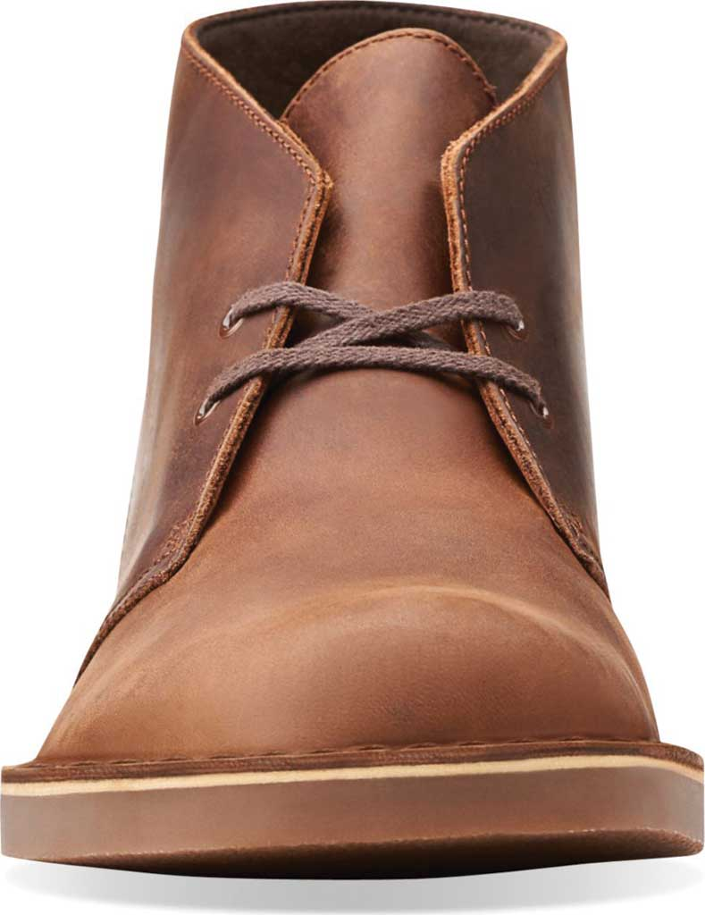 Men's Clarks Bushacre 2 Boot, Dark Brown Leather, large, image 4