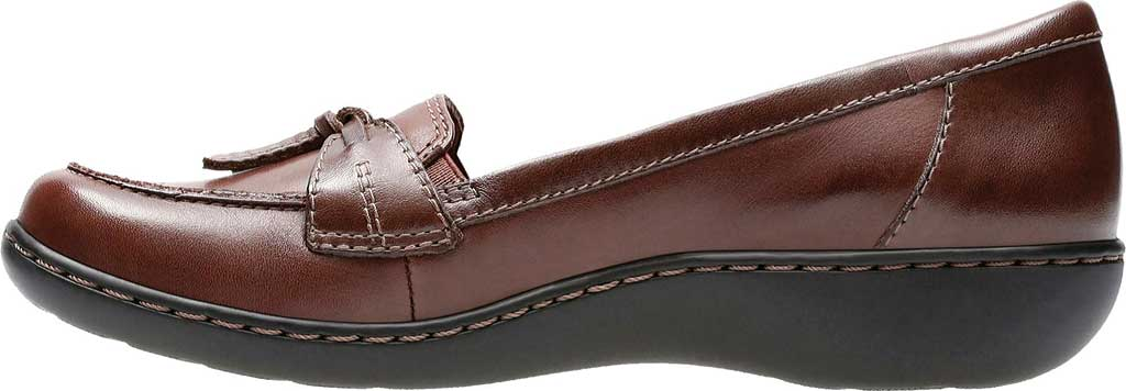 Women's Clarks Ashland Bubble, Brown Leather, large, image 3