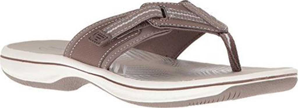 Women's Clarks Brinkley Jazz, Pewter Synthetic III, large, image 1