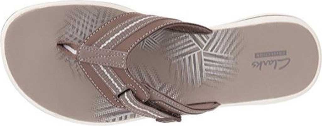Women's Clarks Brinkley Jazz, Pewter Synthetic III, large, image 2