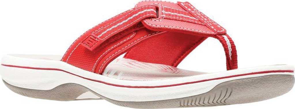 Women's Clarks Brinkley Jazz, Red/Red Synthetic, large, image 1