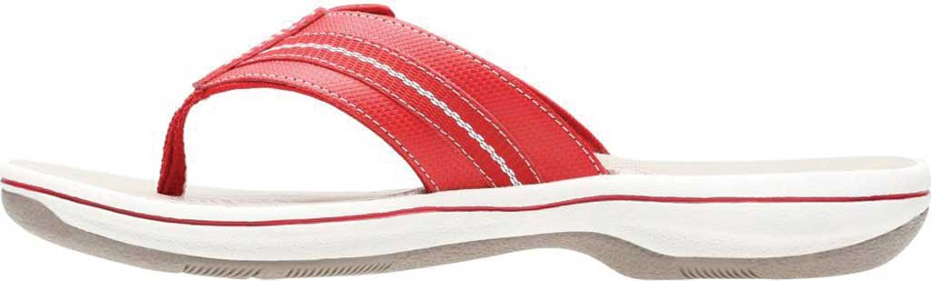 Women's Clarks Brinkley Jazz, Red/Red Synthetic, large, image 3