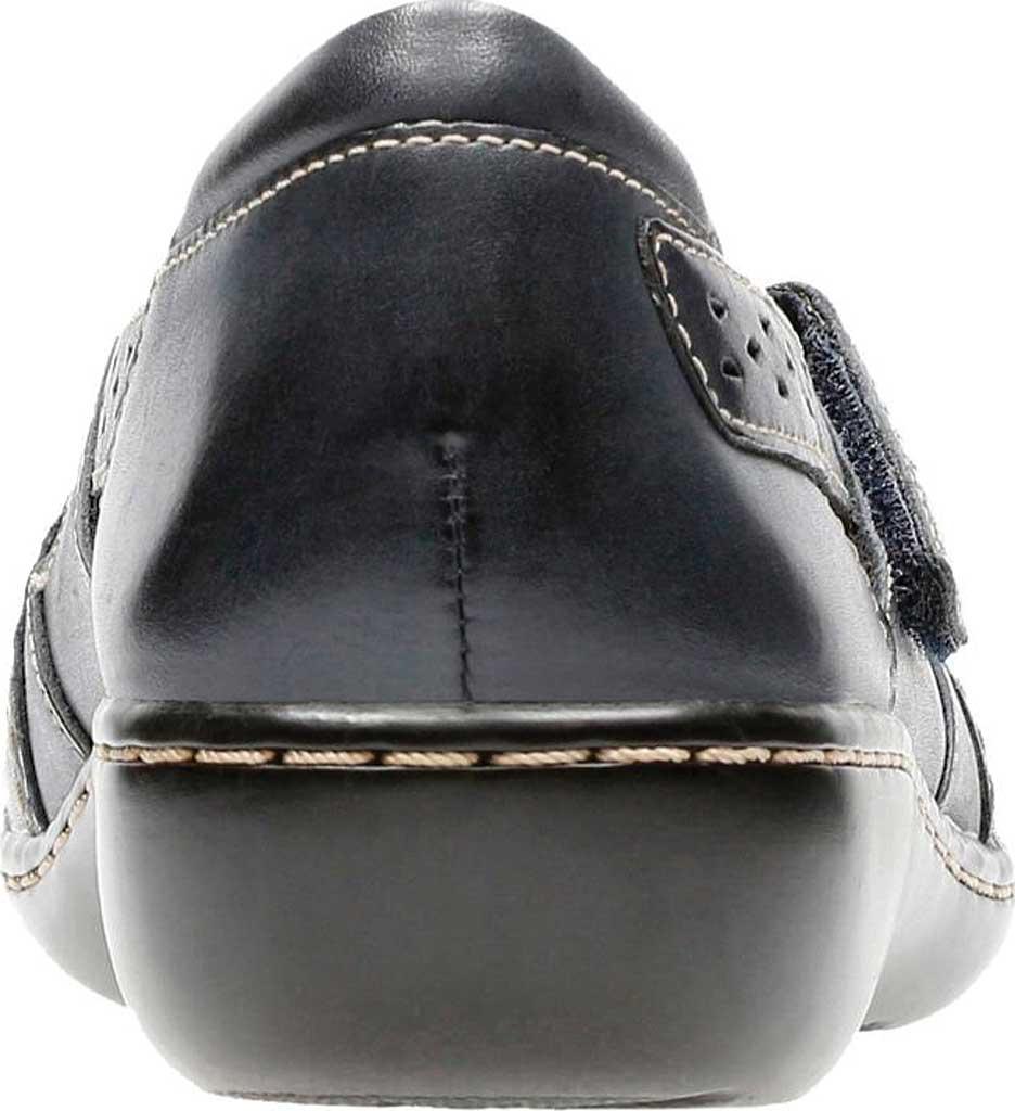 Women's Clarks Ashland Spin, Navy Leather, large, image 4