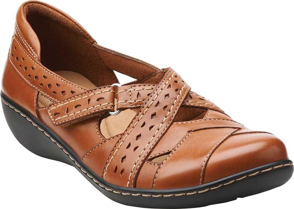 Women's Clarks Ashland Spin, Tan Leather, large, image 1