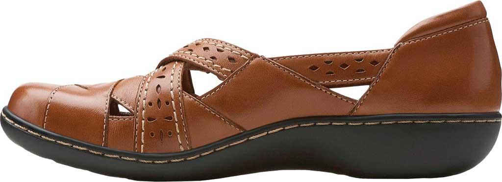 Women's Clarks Ashland Spin, Tan Leather, large, image 3