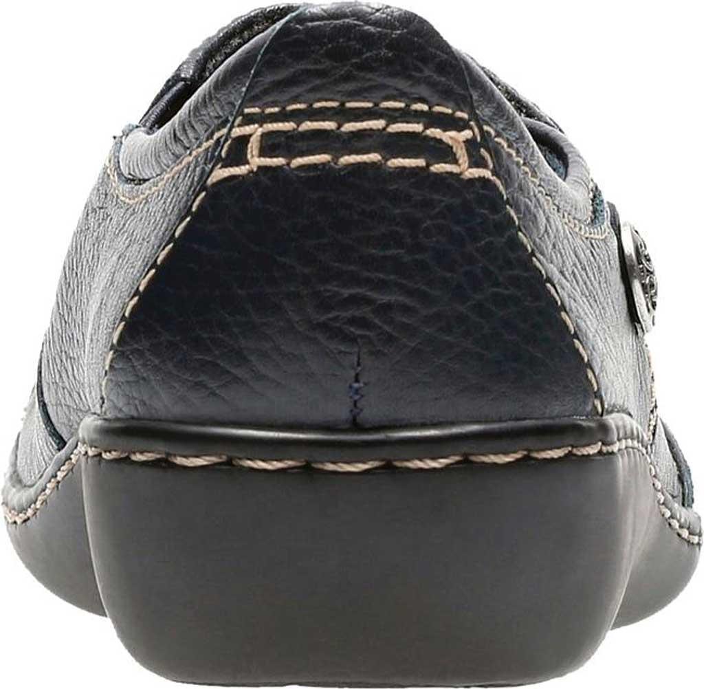 Women's Clarks Ashland Lane, Navy Leather, large, image 4