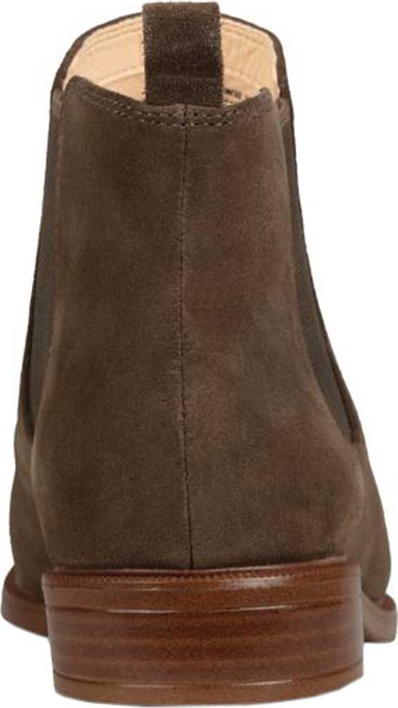 Women's Clarks Taylor Shine Boot, Dark Olive Suede, large, image 4