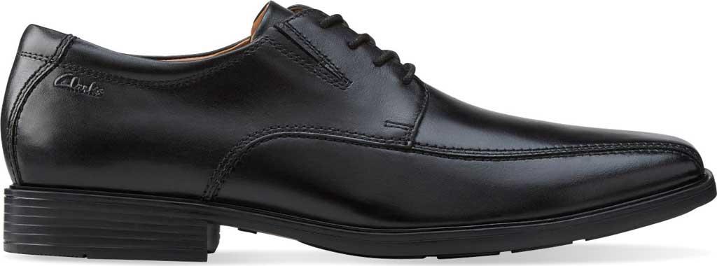 Men's Clarks Tilden Walk Oxford, Black Leather, large, image 2