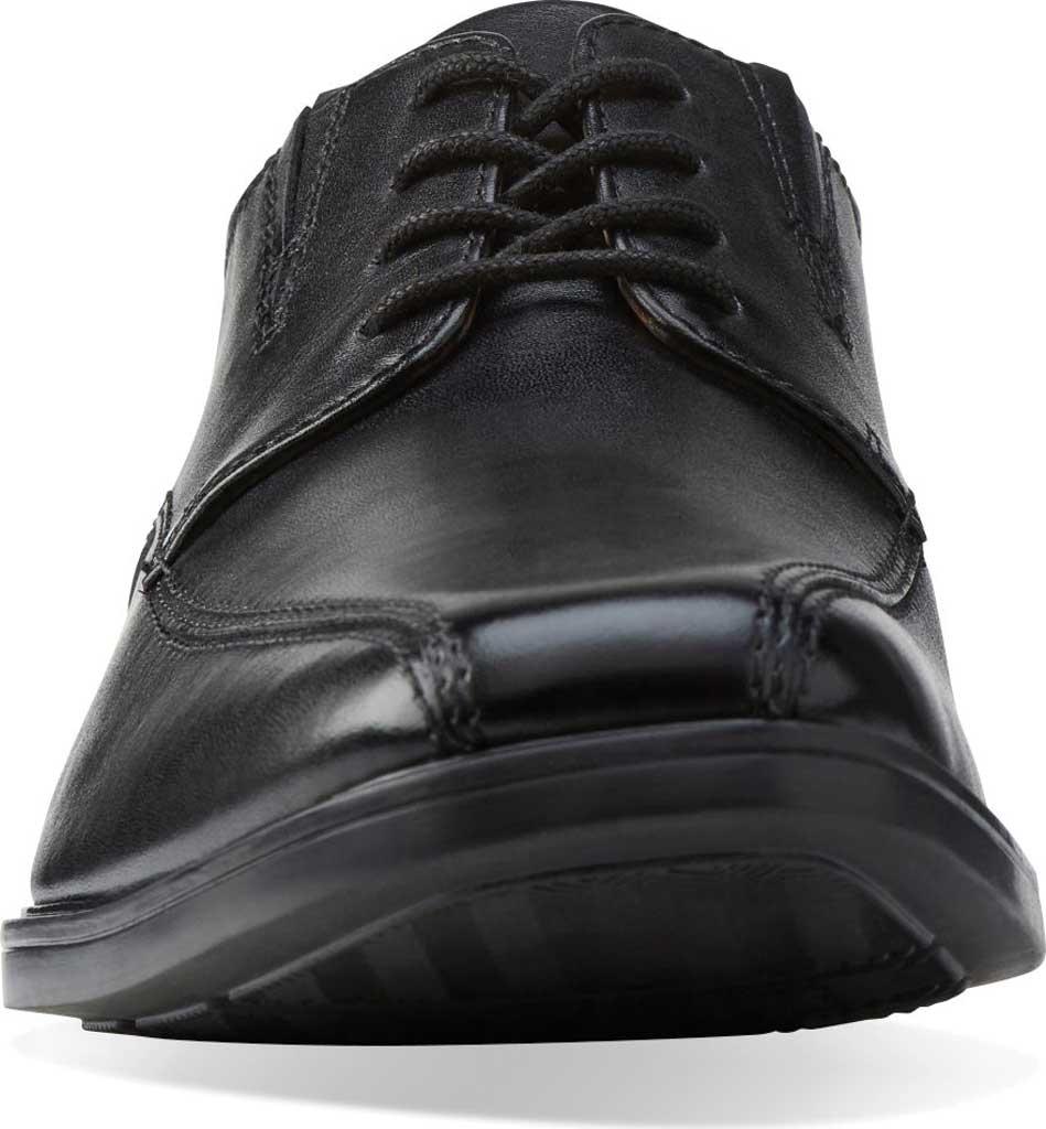 Men's Clarks Tilden Walk Oxford, Black Leather, large, image 4