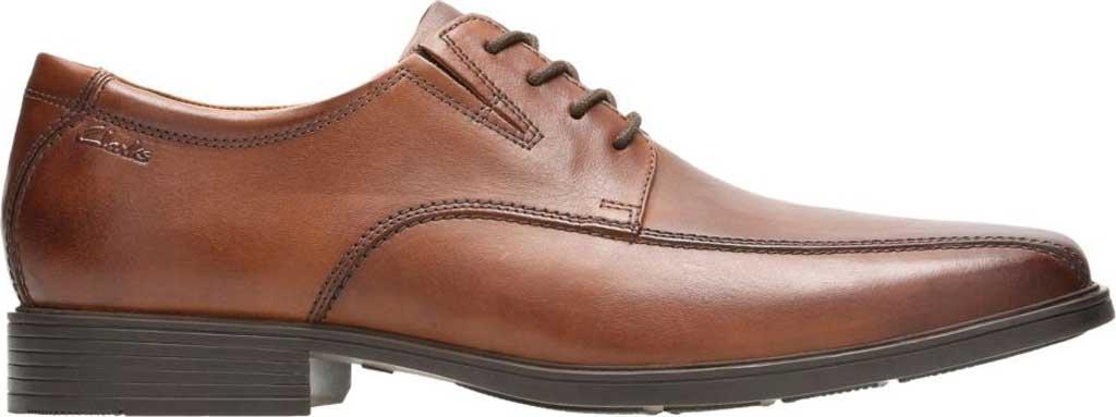Men's Clarks Tilden Walk Oxford, Dark Tan Leather, large, image 2