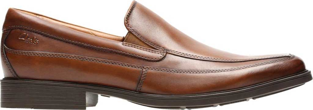 Men's Clarks Tilden Free, Dark Tan Leather, large, image 2