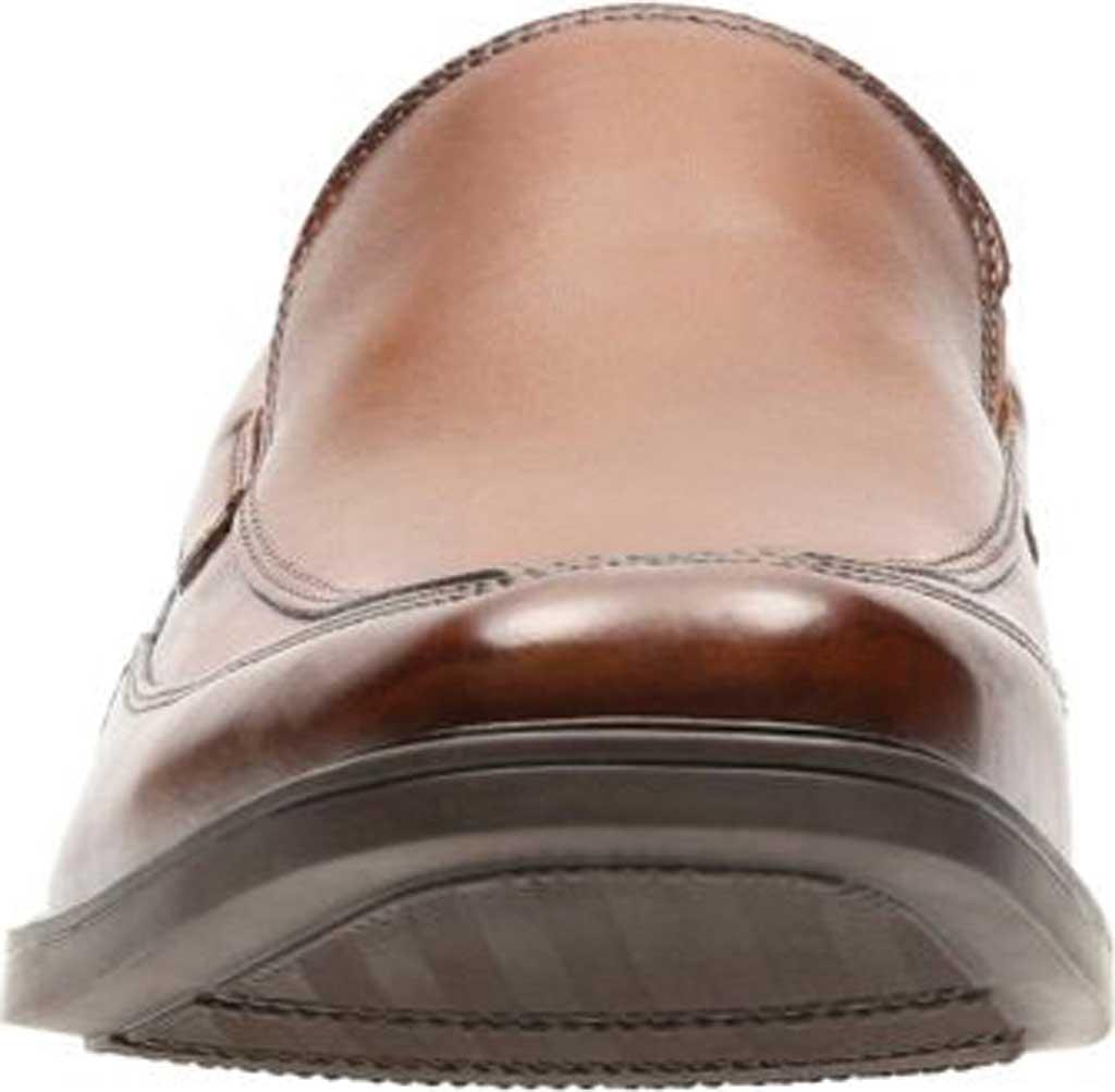 Men's Clarks Tilden Free, Dark Tan Leather, large, image 4