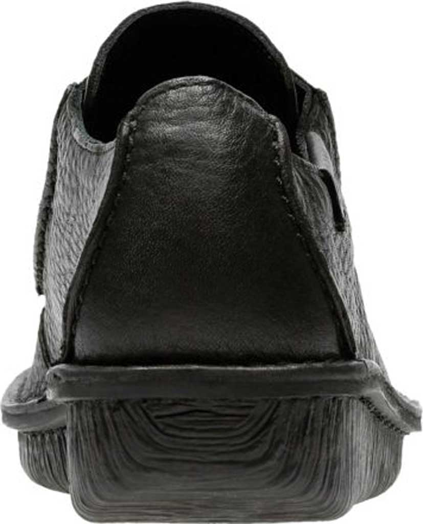 Women's Clarks Funny Dream Lace Up Shoe, Black Leather, large, image 4