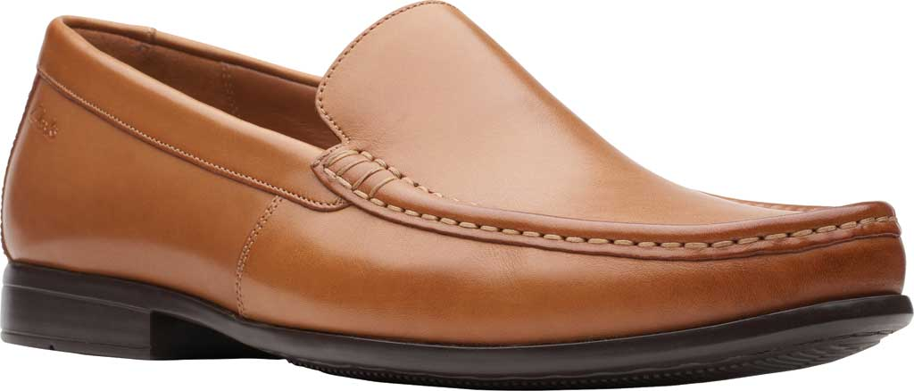 Men's Clarks Claude Plain Loafer, , large, image 1