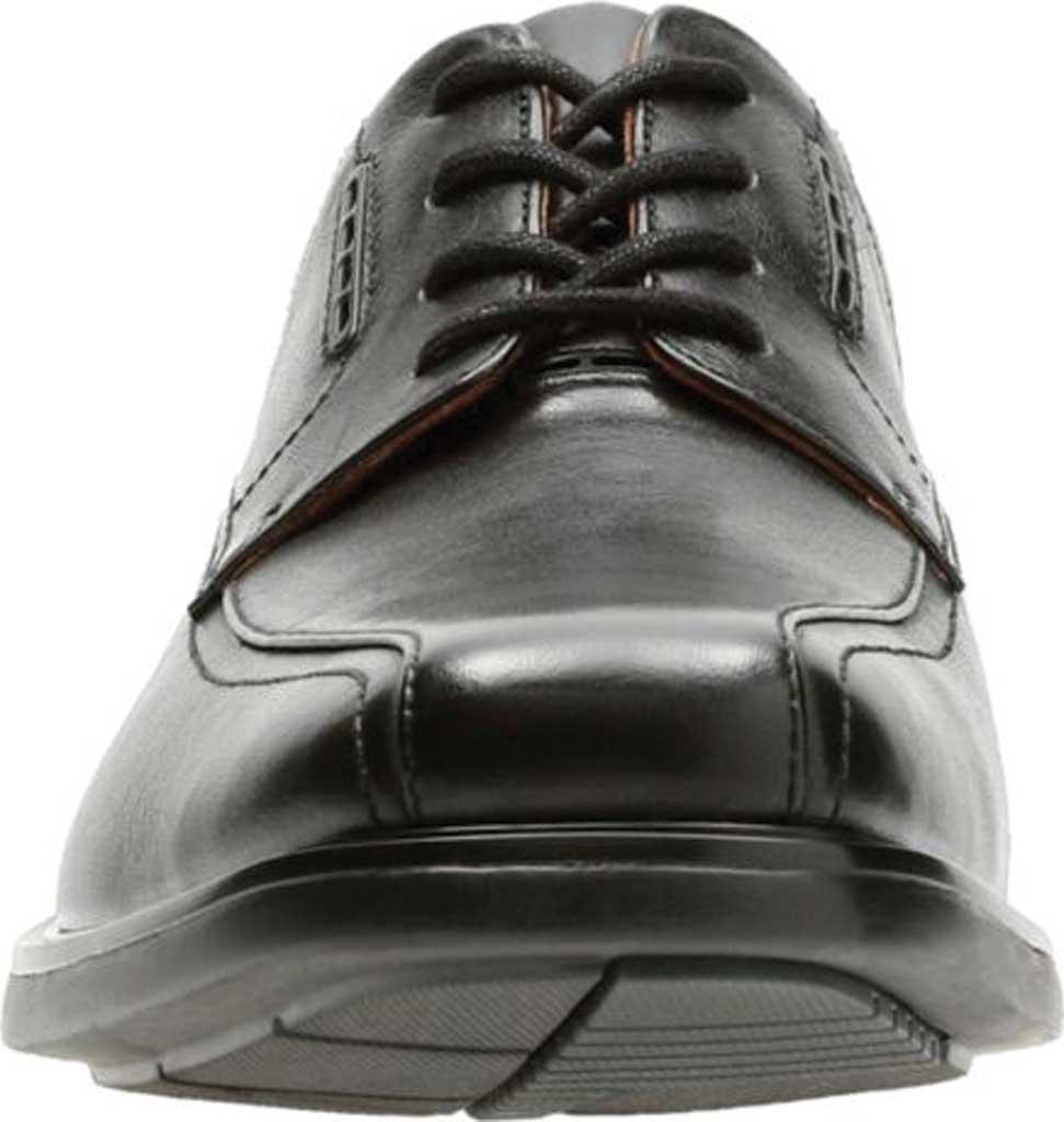 Men's Clarks UnKenneth Way Derby Shoe, Black Full Grain Leather, large, image 4