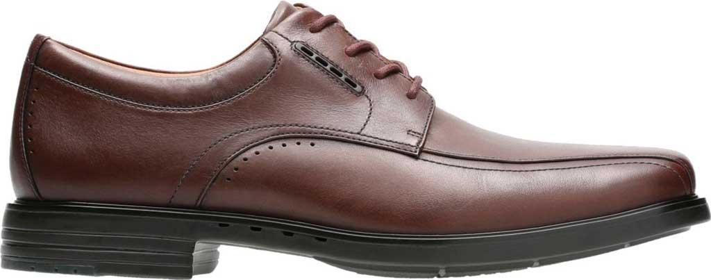 Men's Clarks UnKenneth Way Derby Shoe, Brown Full Grain Leather, large, image 2