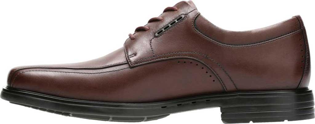 Men's Clarks UnKenneth Way Derby Shoe, Brown Full Grain Leather, large, image 3