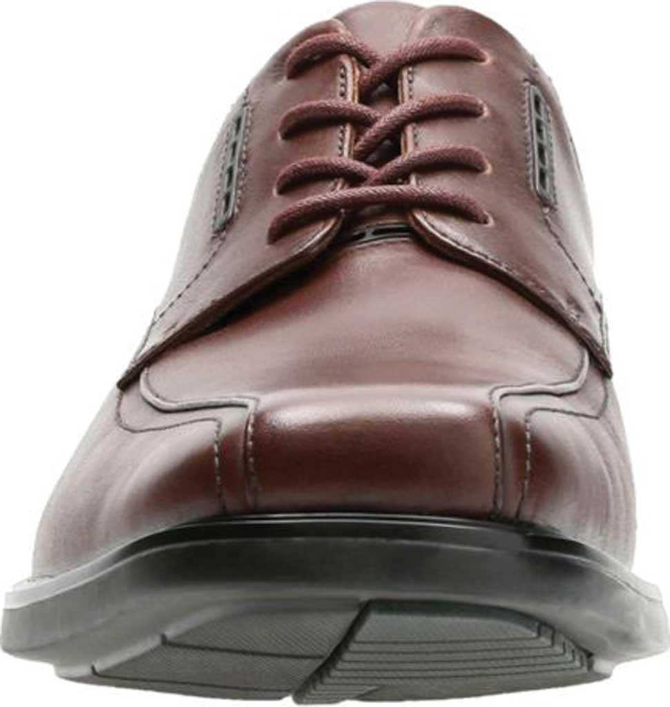 Men's Clarks UnKenneth Way Derby Shoe, Brown Full Grain Leather, large, image 4
