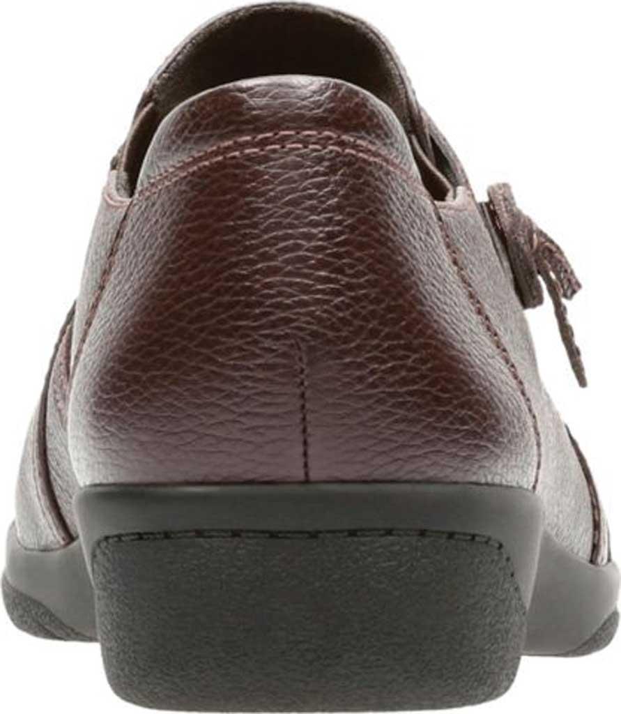 Women's Clarks Cheyn Madi Monkstrap, Dark Brown Full Grain Leather, large, image 4
