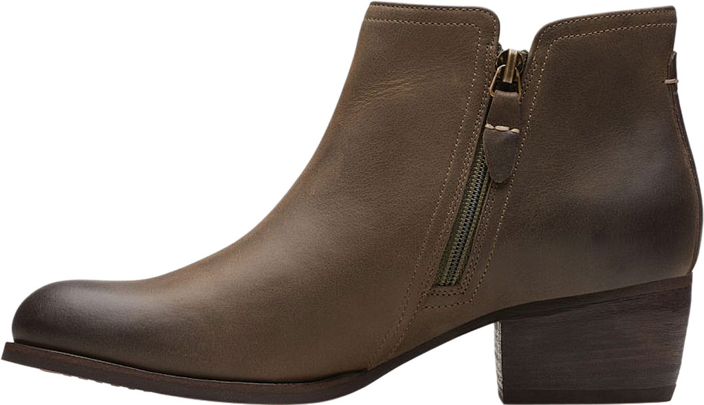 Women's Clarks Maypearl Ramie Ankle Bootie, , large, image 3