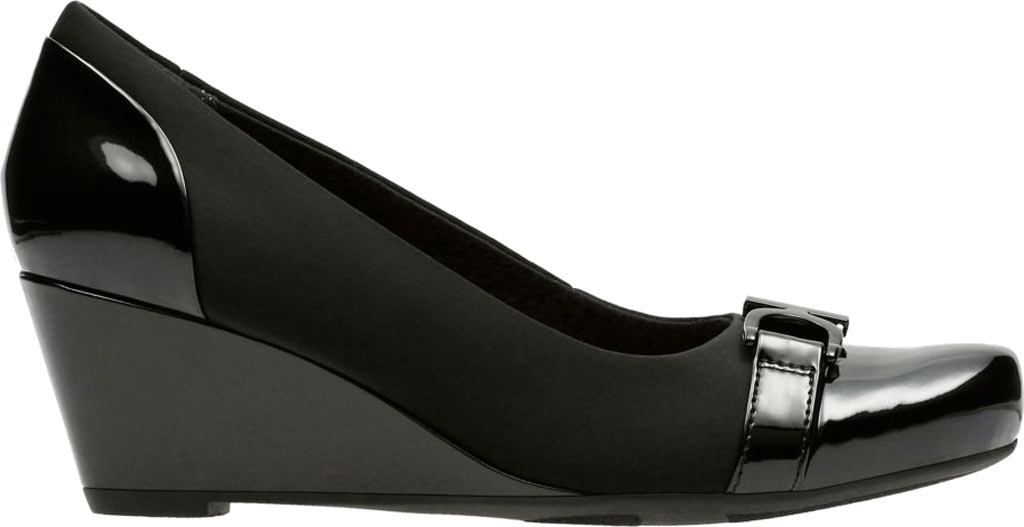 Women's Clarks Flores Poppy Wedge, , large, image 2