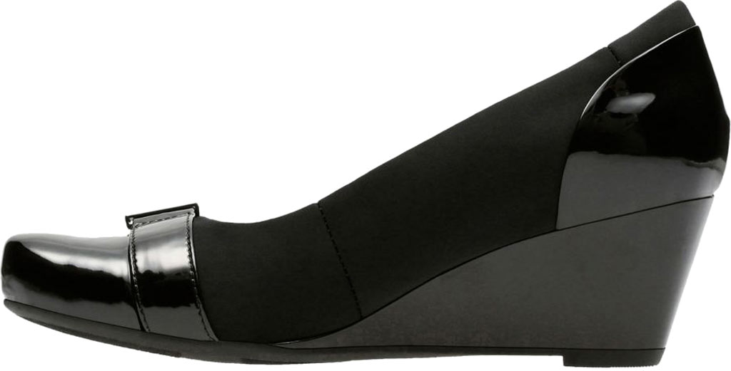 Women's Clarks Flores Poppy Wedge, , large, image 3