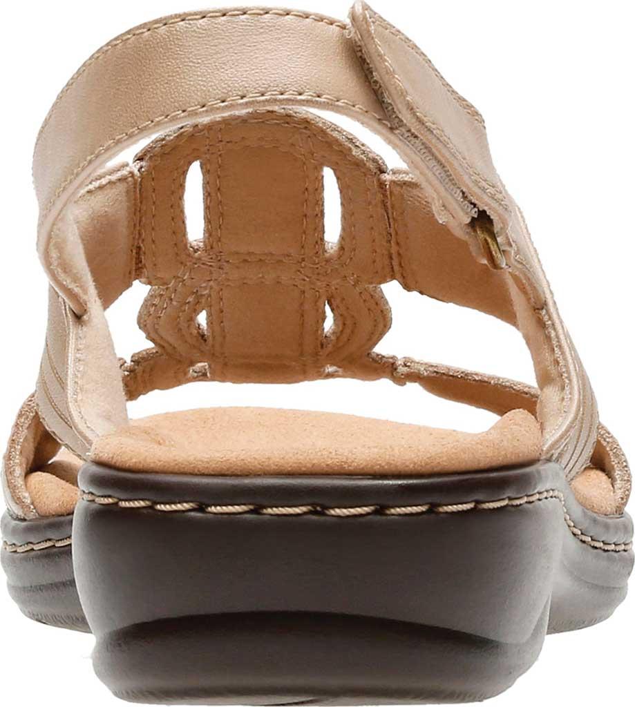 Women's Clarks Leisa Vine Slingback, Sand Full Grain Leather, large, image 5