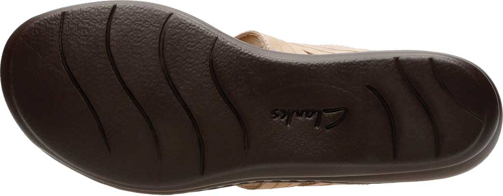 Women's Clarks Leisa Vine Slingback, Sand Full Grain Leather, large, image 7