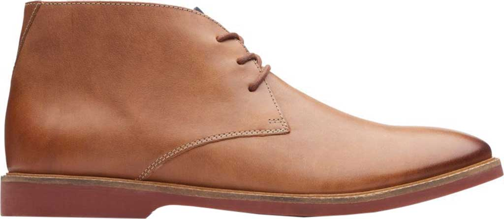 Men's Clarks Atticus Limit Chukka Boot, Tan Full Grain Leather, large, image 2