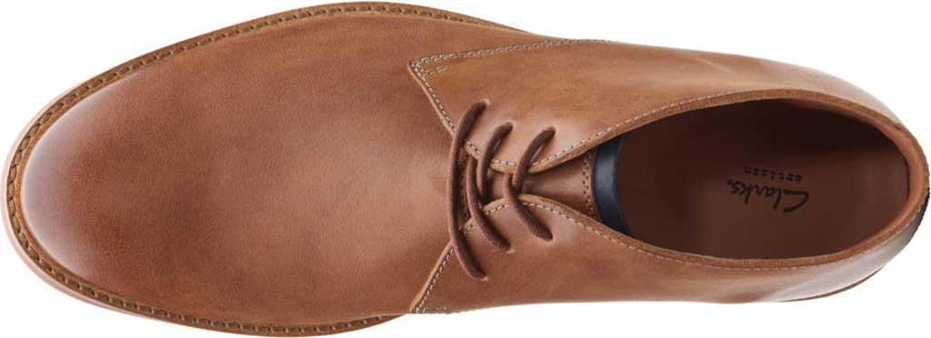 Men's Clarks Atticus Limit Chukka Boot, Tan Full Grain Leather, large, image 6
