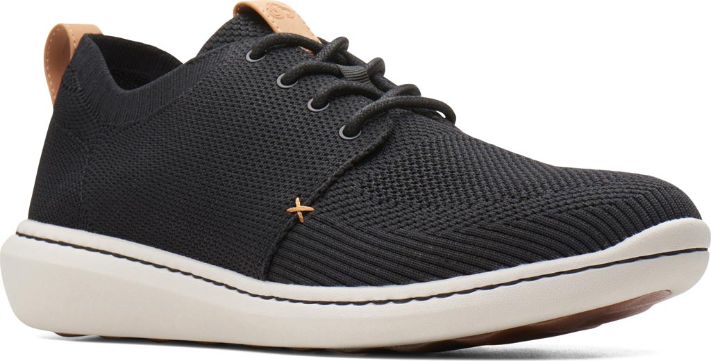Men's Clarks Step Urban Mix Sneaker, Navy Textile Knit, large, image 1