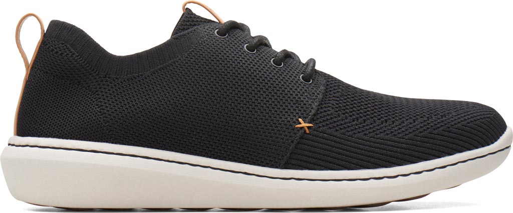 Men's Clarks Step Urban Mix Sneaker, Navy Textile Knit, large, image 2