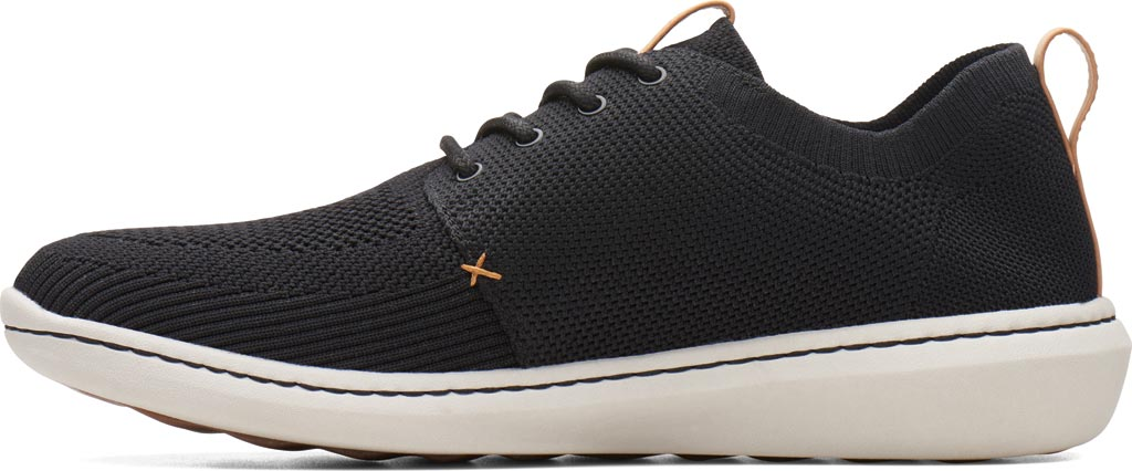 Men's Clarks Step Urban Mix Sneaker, Navy Textile Knit, large, image 3