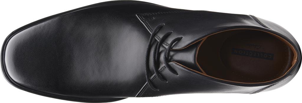 Men's Clarks Tilden Top Chukka Boot, Black Full Grain Leather, large, image 5