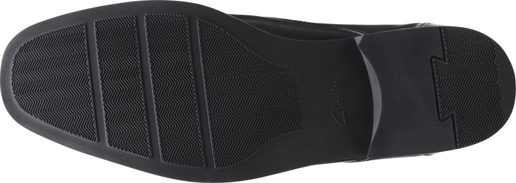 Men's Clarks Tilden Top Chukka Boot, Black Full Grain Leather, large, image 6