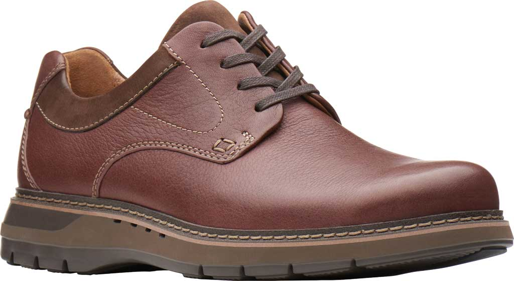 Men's Clarks Un Ramble Lo Oxford, , large, image 1
