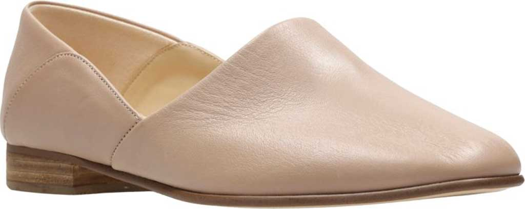 Women's Clarks Pure Tone Slip-On, Nude Leather, large, image 1