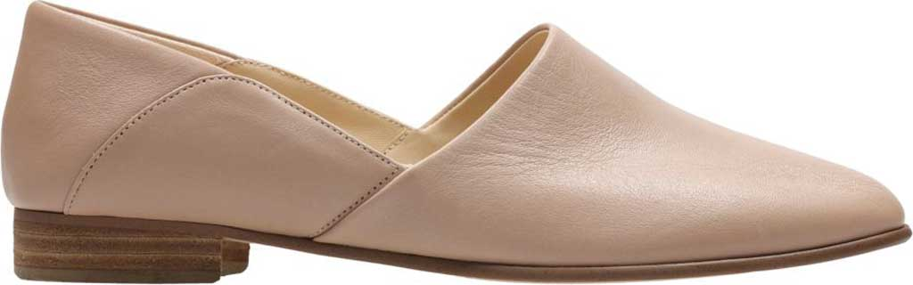 Women's Clarks Pure Tone Slip-On, Nude Leather, large, image 2