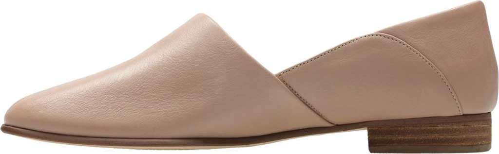 Women's Clarks Pure Tone Slip-On, Nude Leather, large, image 3