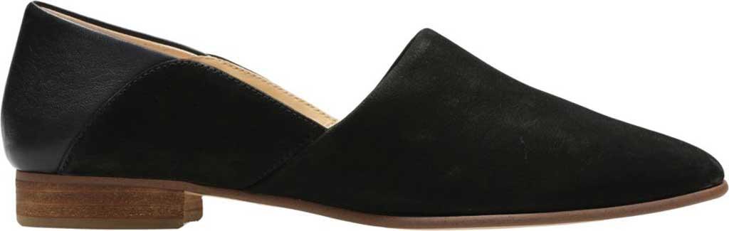 Women's Clarks Pure Tone Slip-On, Black Combination, large, image 2