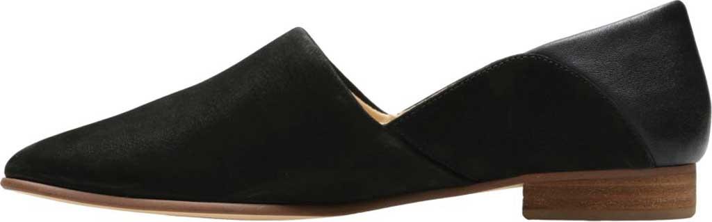 Women's Clarks Pure Tone Slip-On, Black Combination, large, image 3