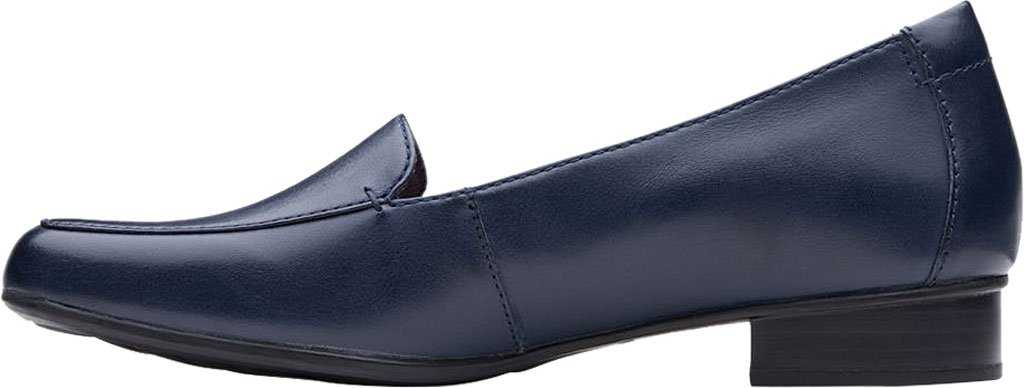 Women's Clarks Juliet Lora Loafer, Navy Leather, large, image 3