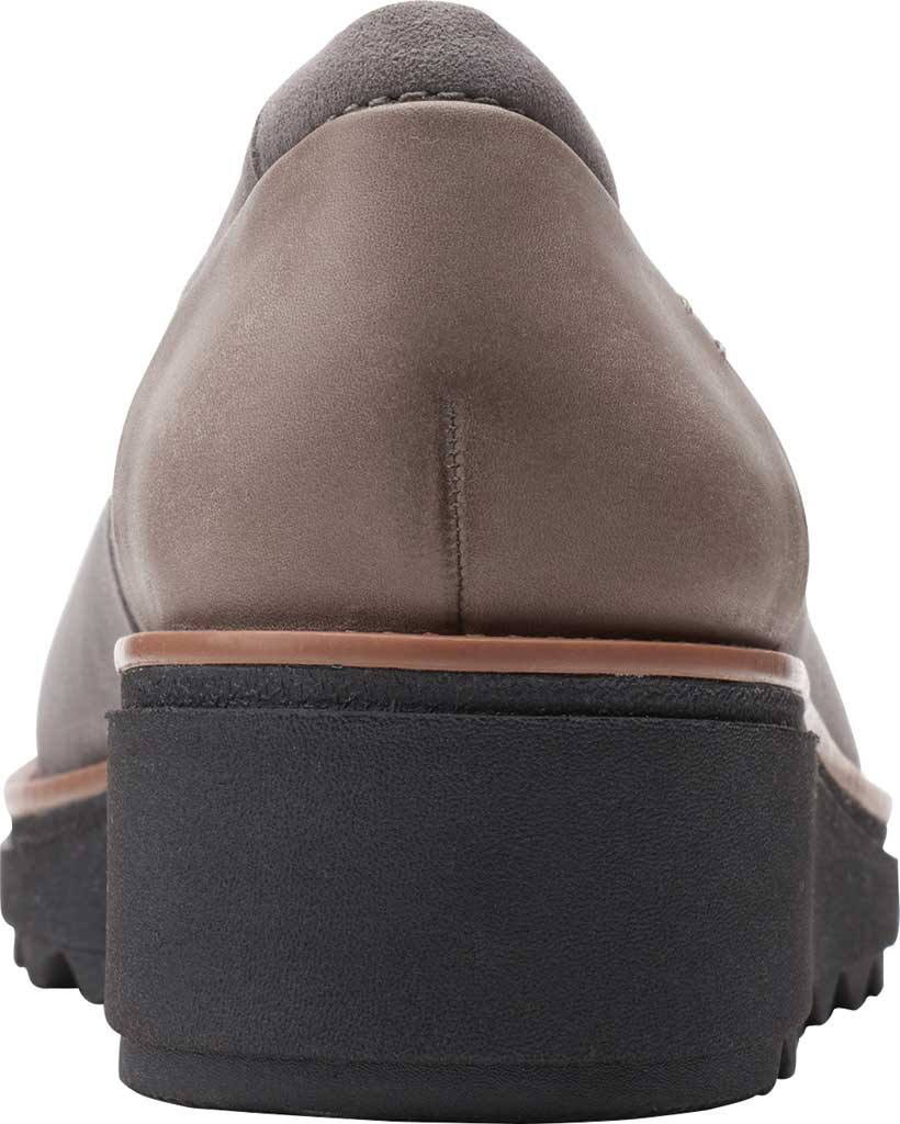 Women's Clarks Sharon Dolly Loafer, Dusty Pink Suede, large, image 4